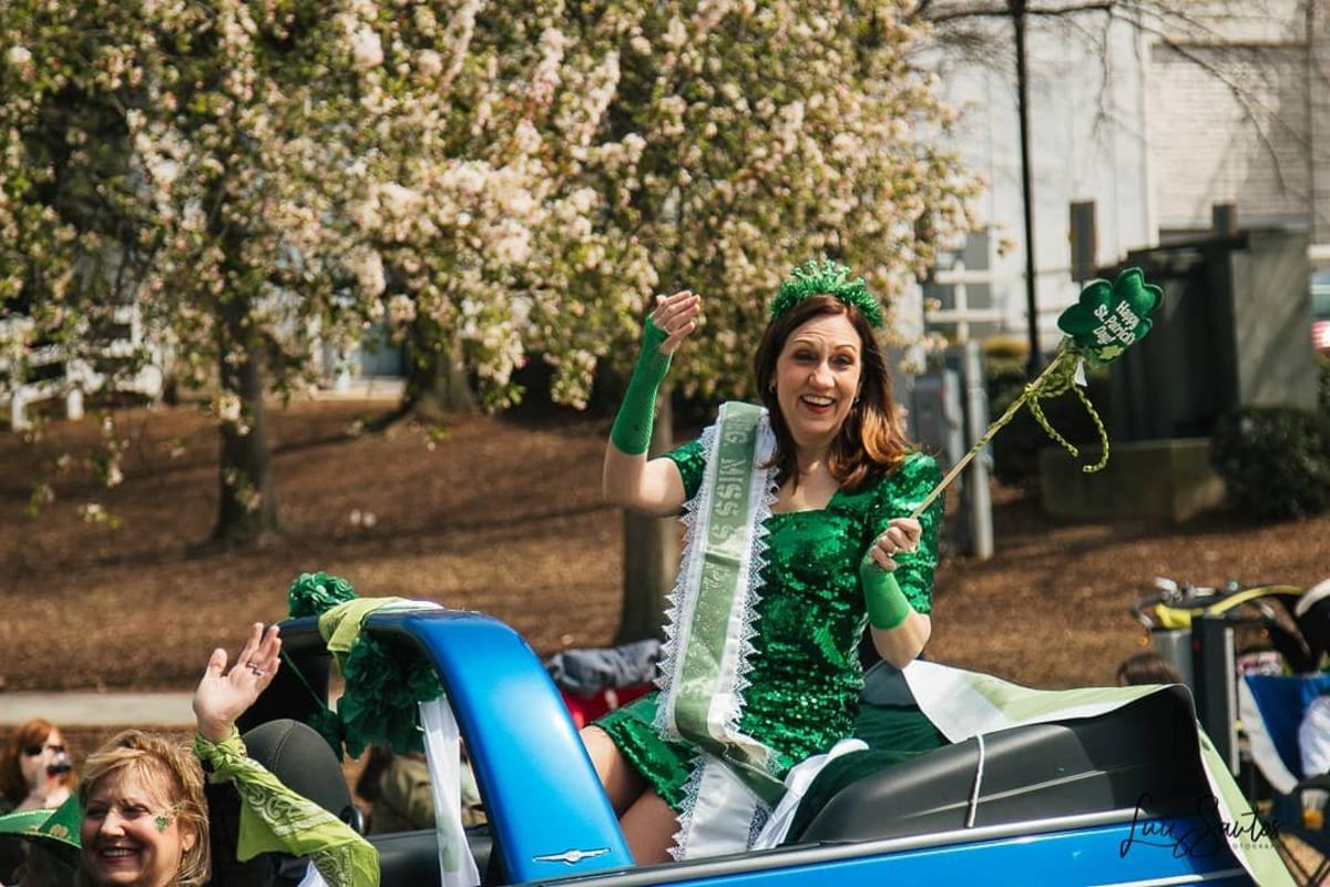 St Patrick's Day Parade in Huntsville