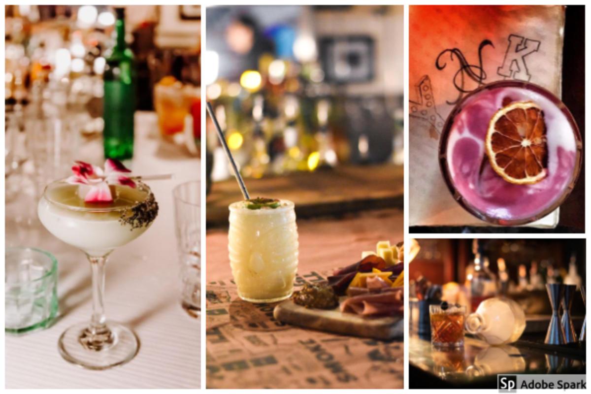 Cocktails at the Butchershop and Y.N.k