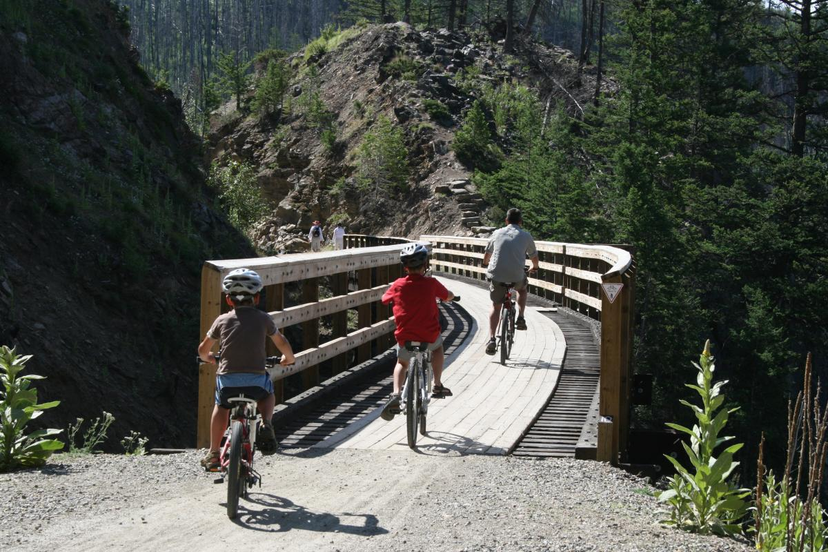 Myra Canyon Kettle Valley Trestles, Kelowna BC