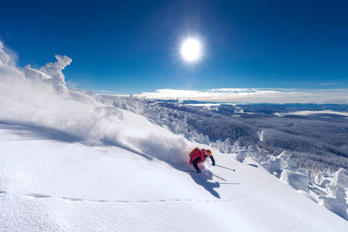 Location:Bigwhite Skier: John Holman