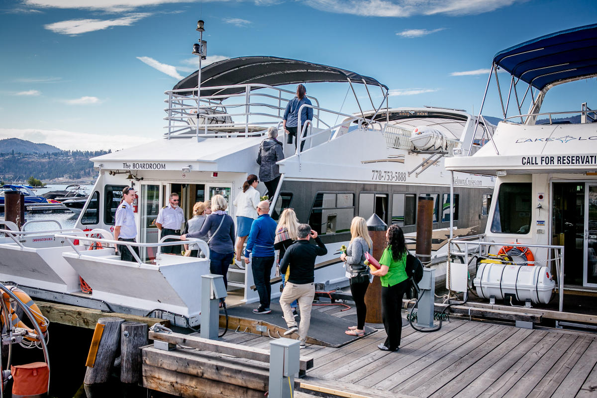 M&IT Kelowna Cruises