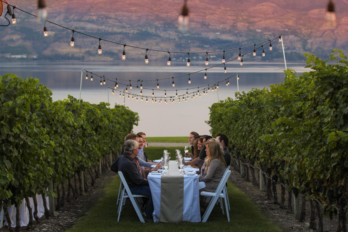 Quails Gate Winery: Dinner in the Vineyard