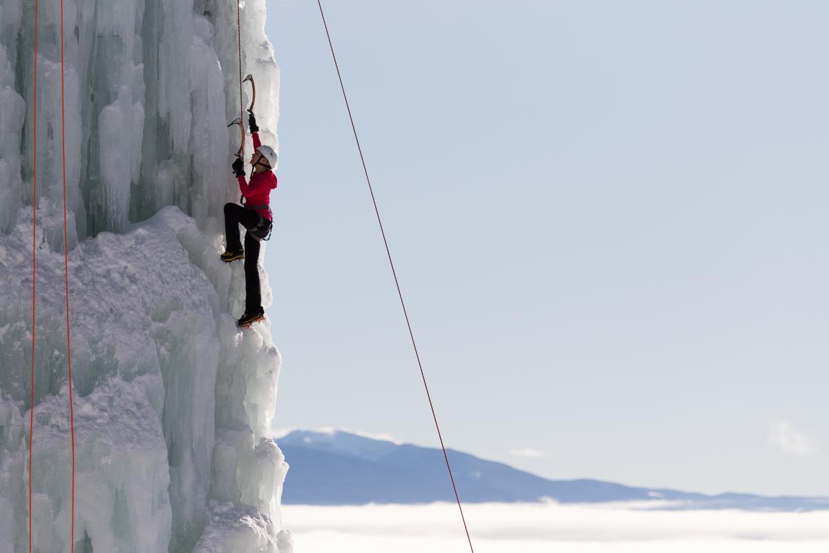 Ice Climbing at Big White