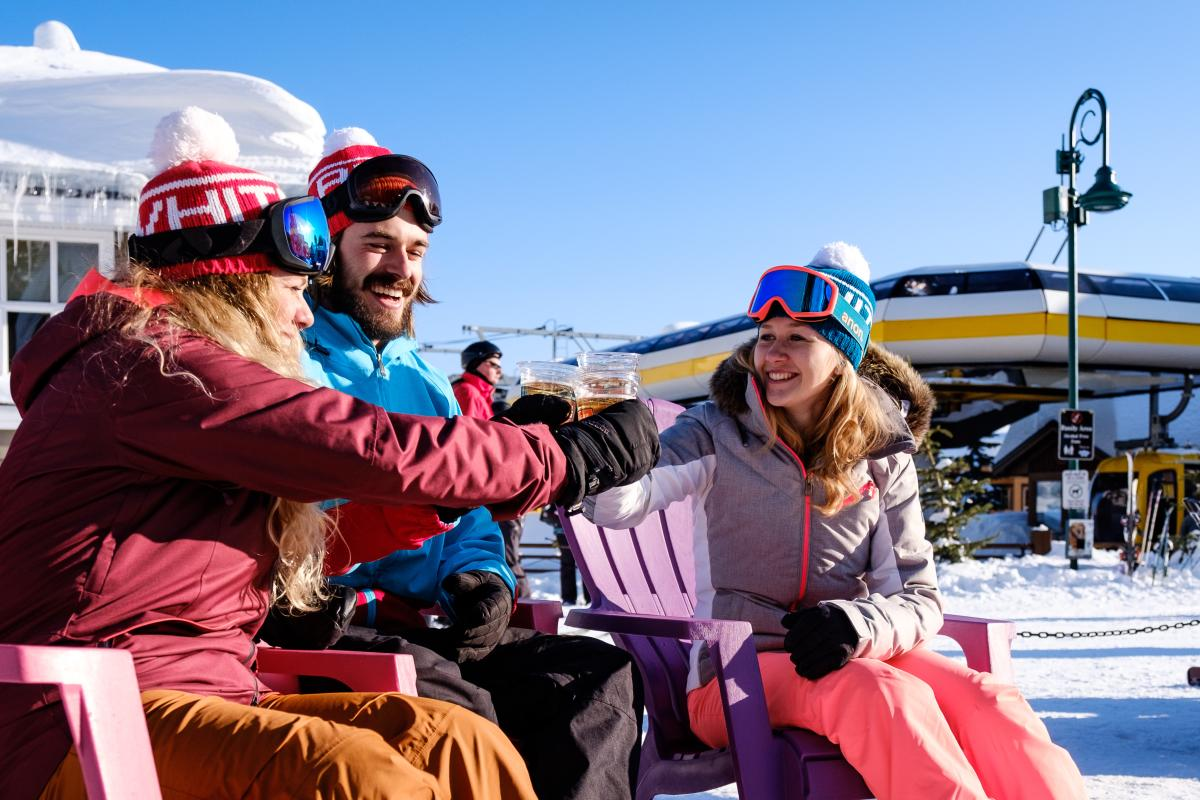Big White Ski Resort - Beers in the Village