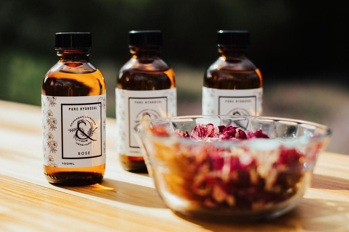 Rose Hydrosol - Okanagan Lavender Farm