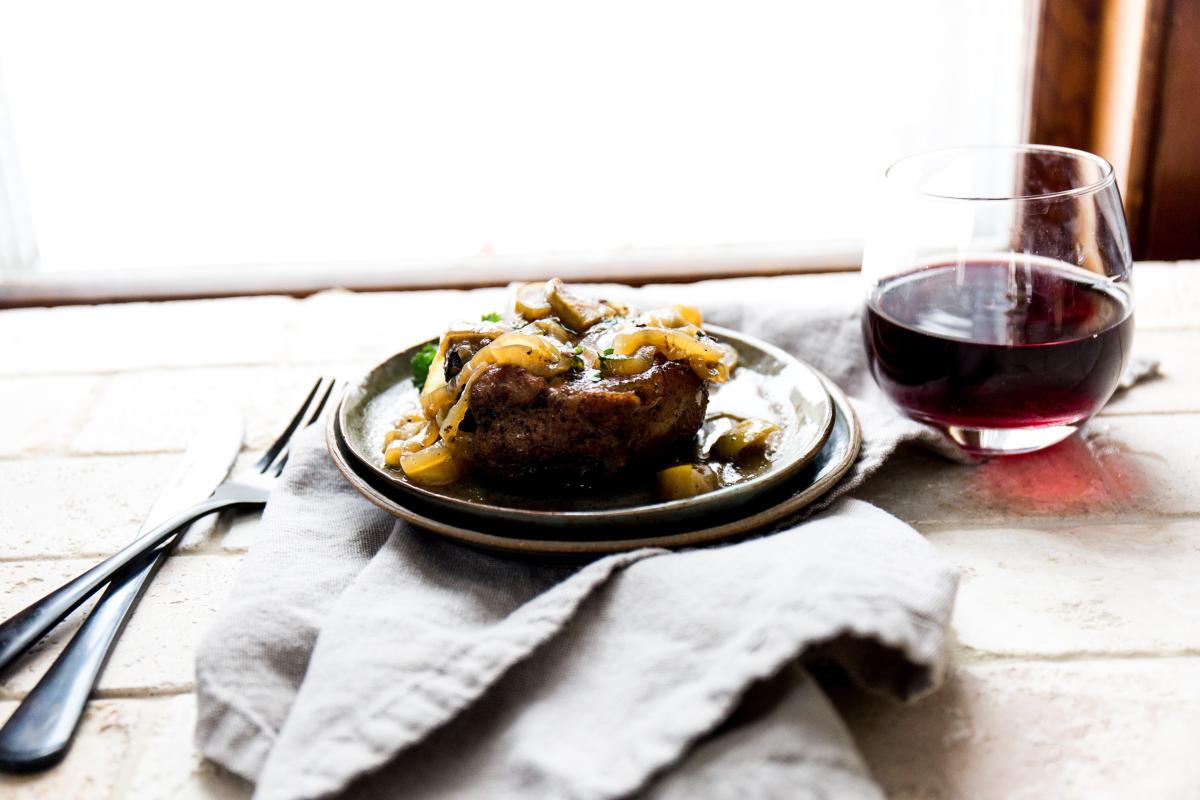 Food Paired with Red Wine