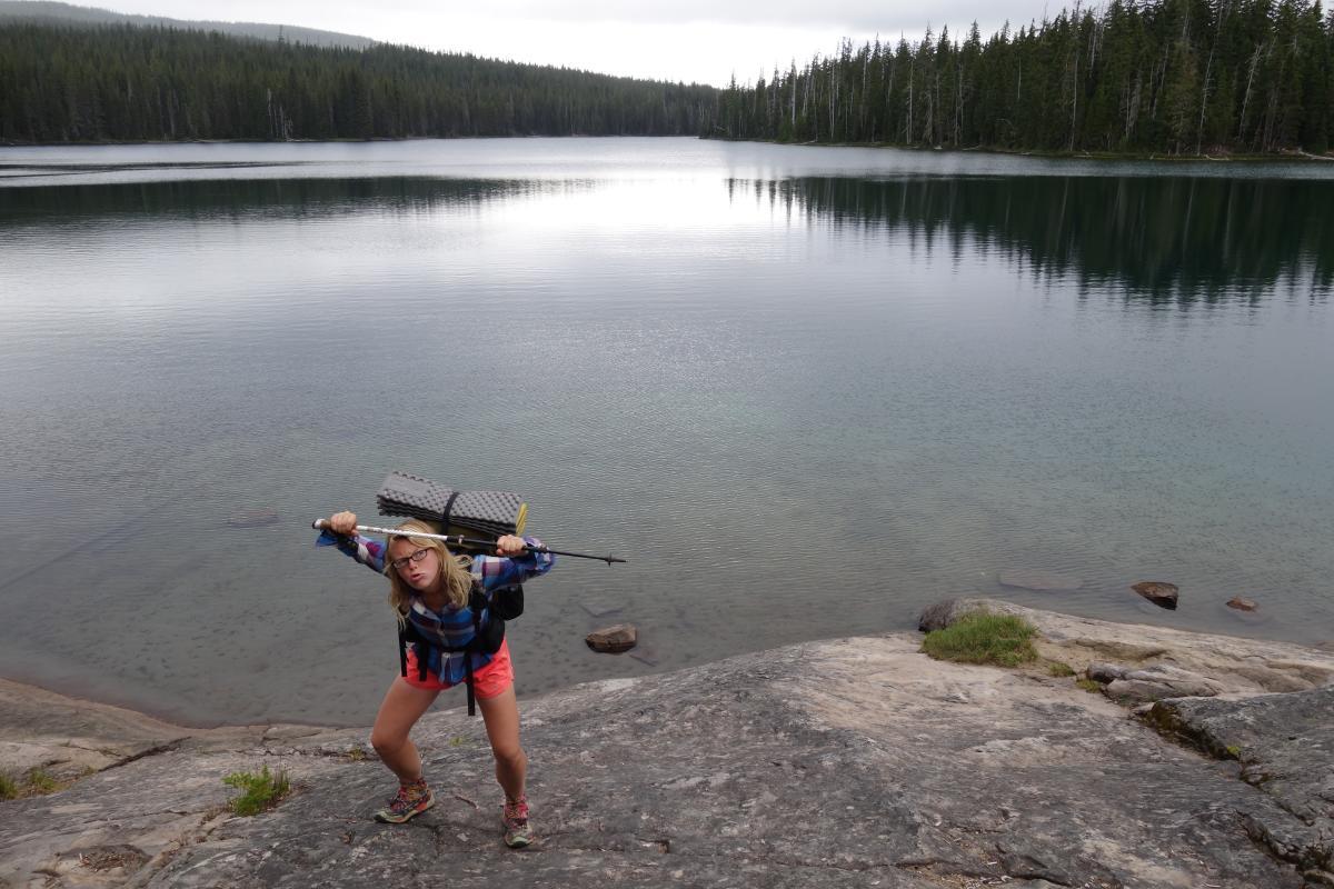 Bobby Lake on the PCT by Julia Frantz