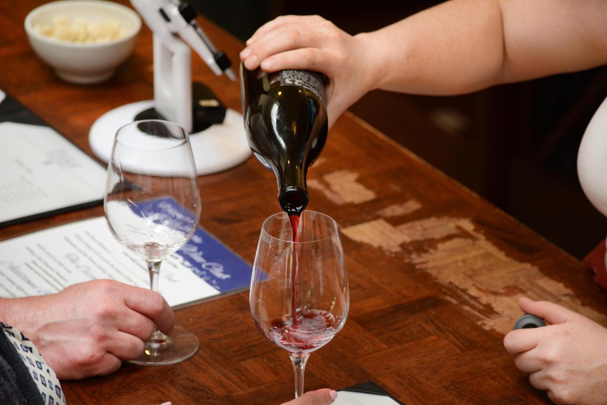 Wine tasting by Colin Morton