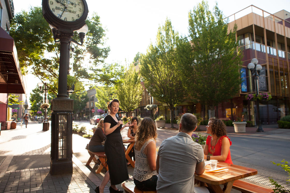 Dining in Downtown Eugene