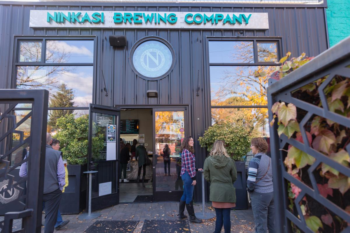 Ninkasi Brewing Company by Joni Kabana