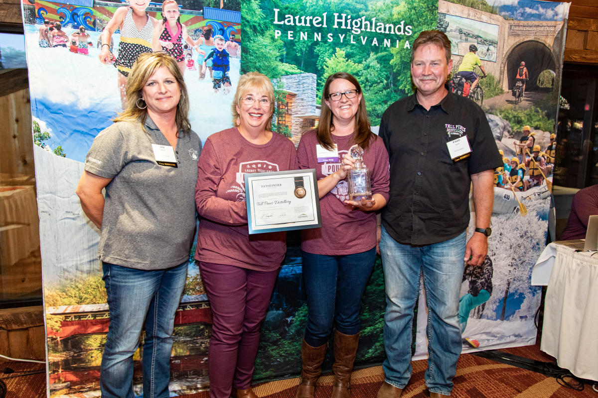 2019 Pathfinder of the Year, Tall Pines Distillery, Lisa and Keith Welch