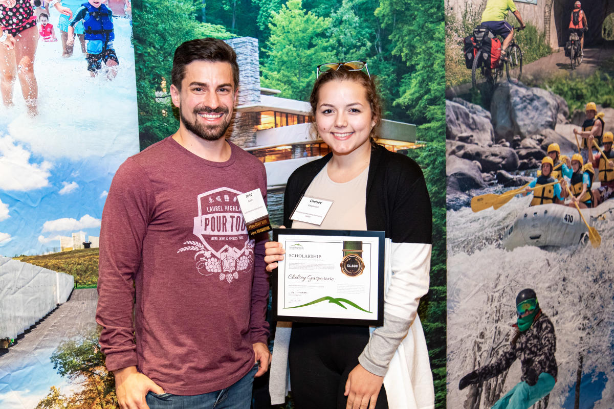 2019 Tourism Scholarship Winner, Chelsey Gasparovic