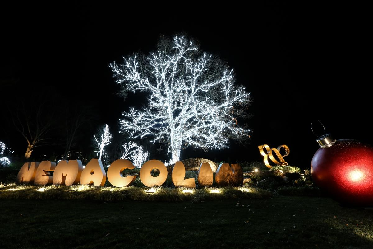 Nemacolin Holiday Lights