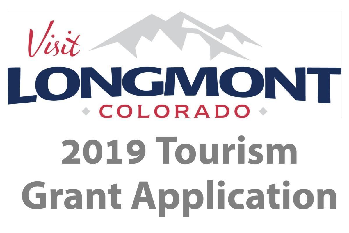 2019 Tourism Grant Program banner