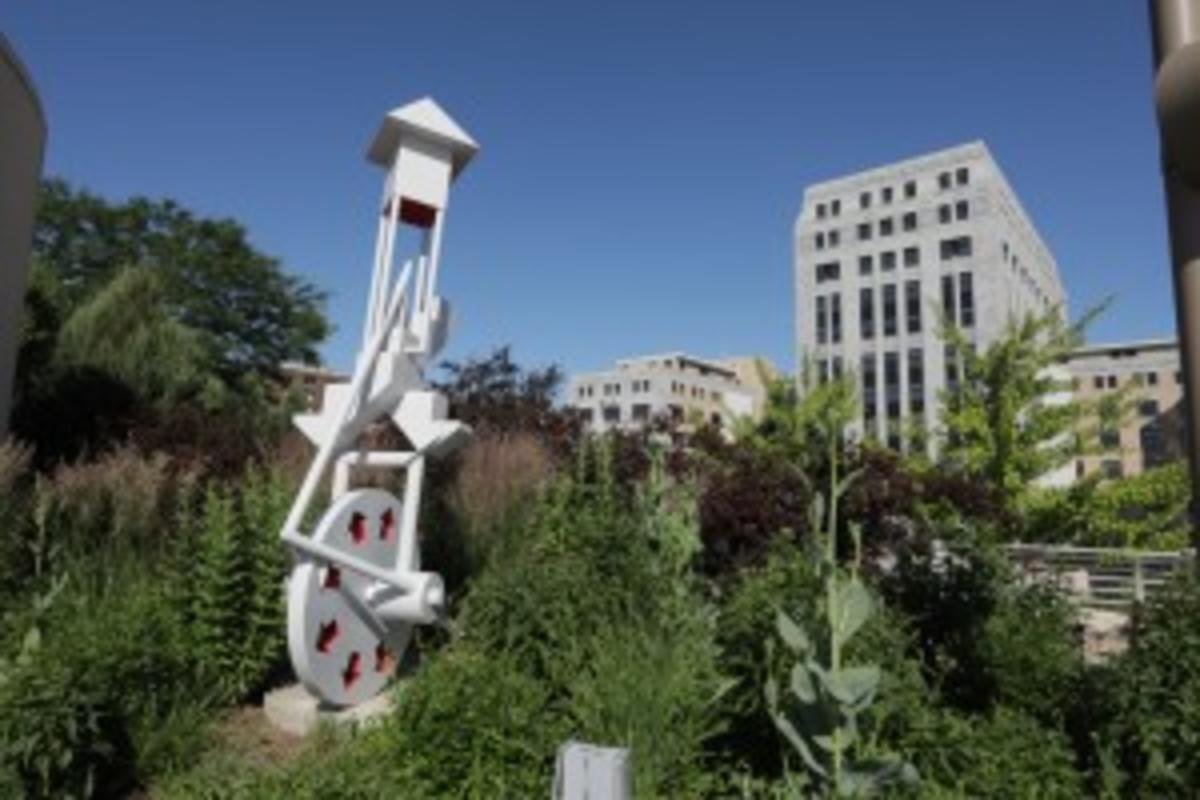 Monona Terrace sculpture