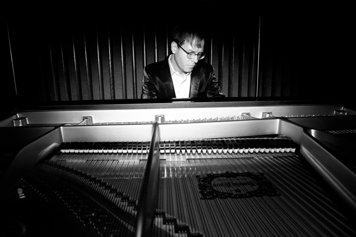 Pianist David Braid