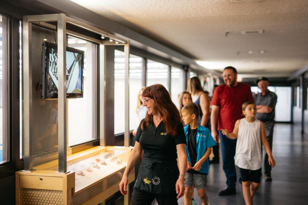 Tour at the Royal Canadian Mint