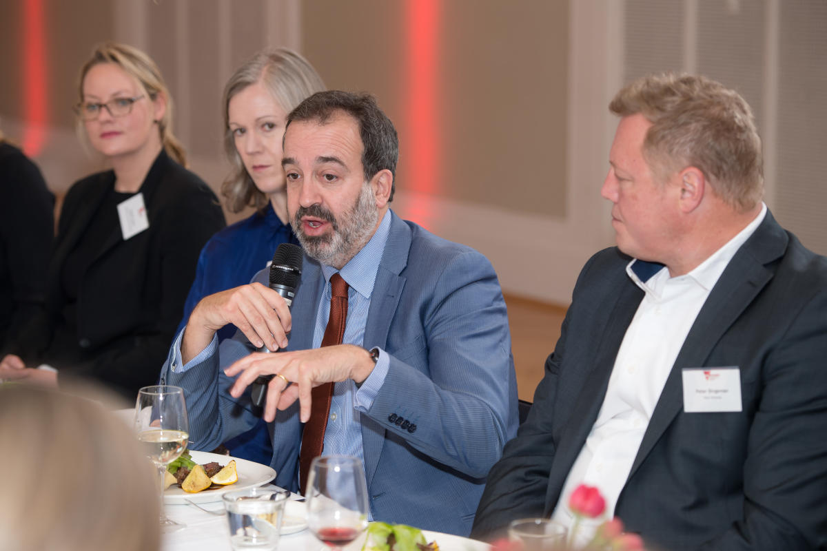 MCB lunch with The Hon. Martin Pakula MP - August 2019