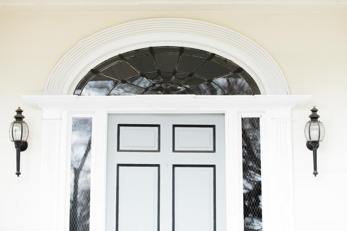 Brown-Stetson-Sanford House fanlight