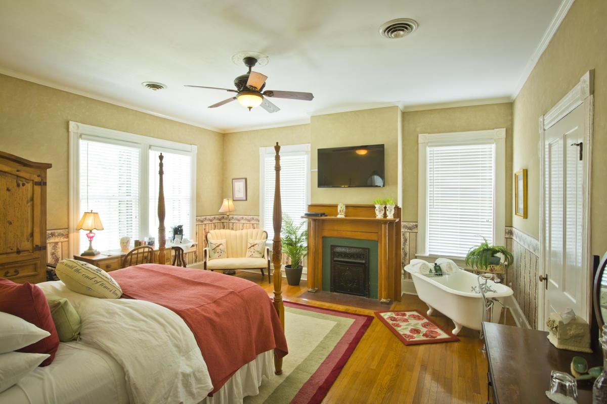 Room at the Antebellum Inn
