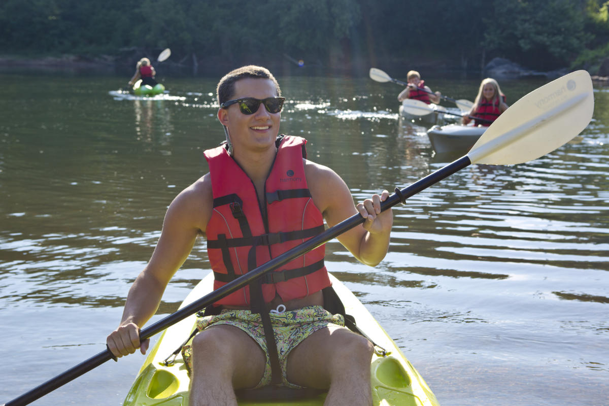 Kayaking the Oconee River