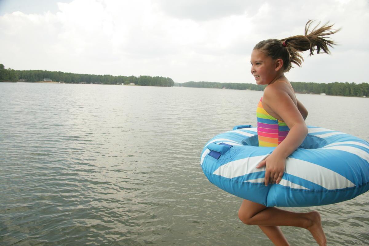 Lake Sinclair Jump