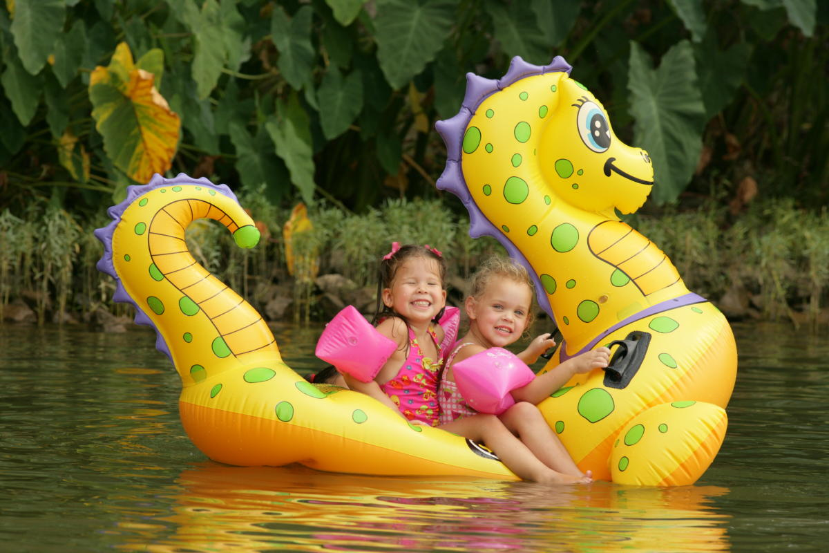 Lake Sinclair Kids Raft