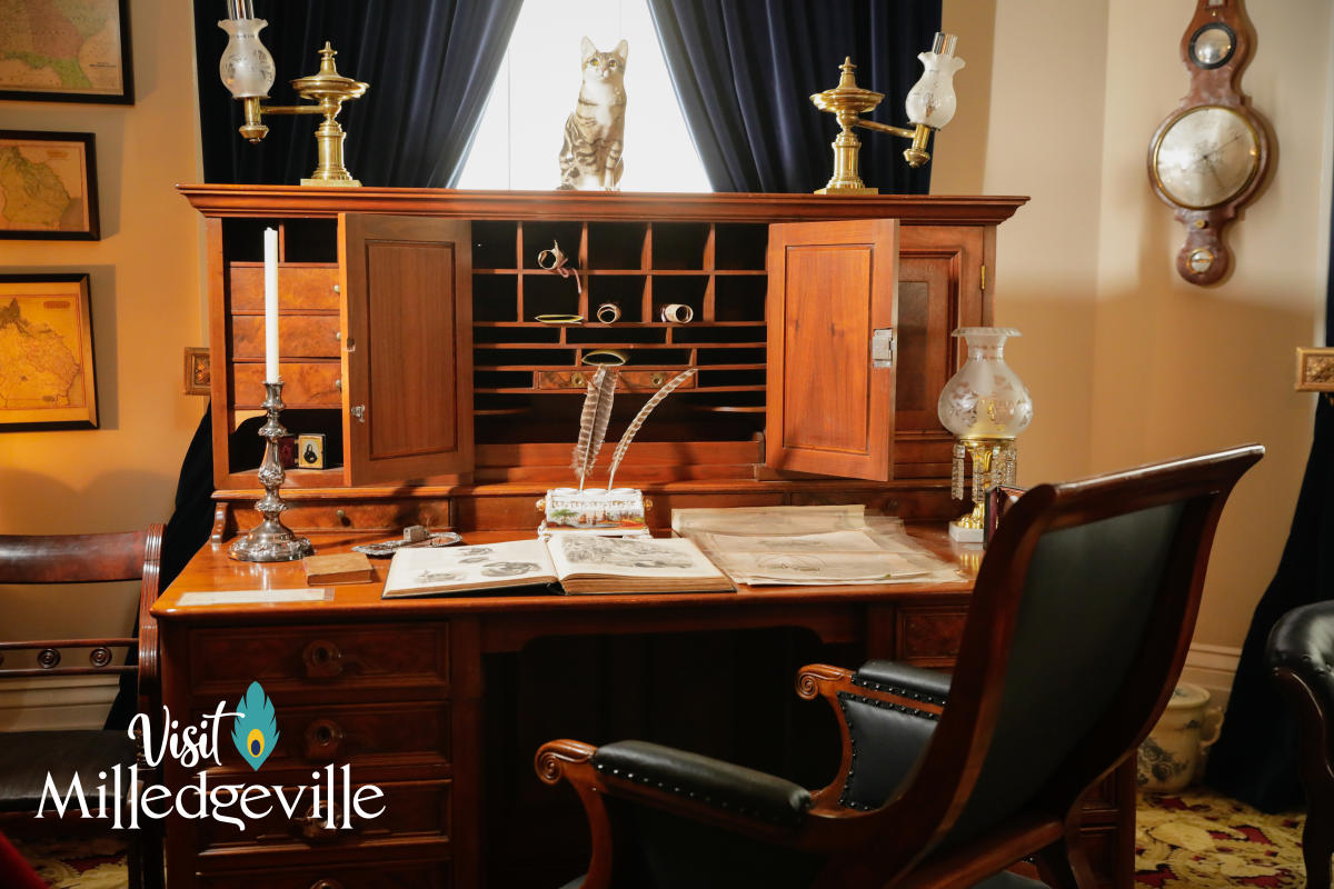 Executive Office at Mansion Background