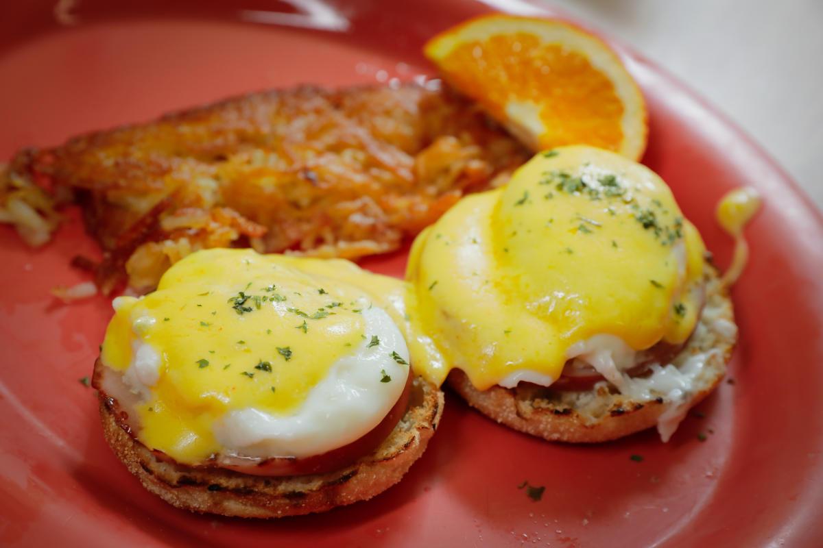 Eggs Benedict at Local Yolkal