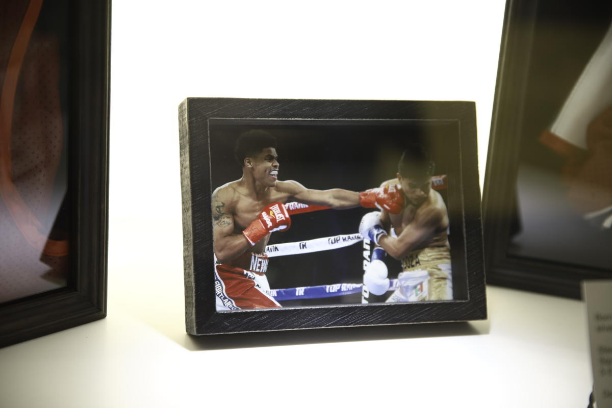 Airport Display Shakur Stevenson