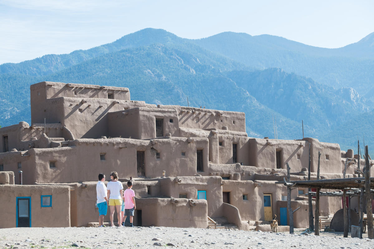 For centuries, Taos Pueblo has been (and remains) a home of the Tiwa people.