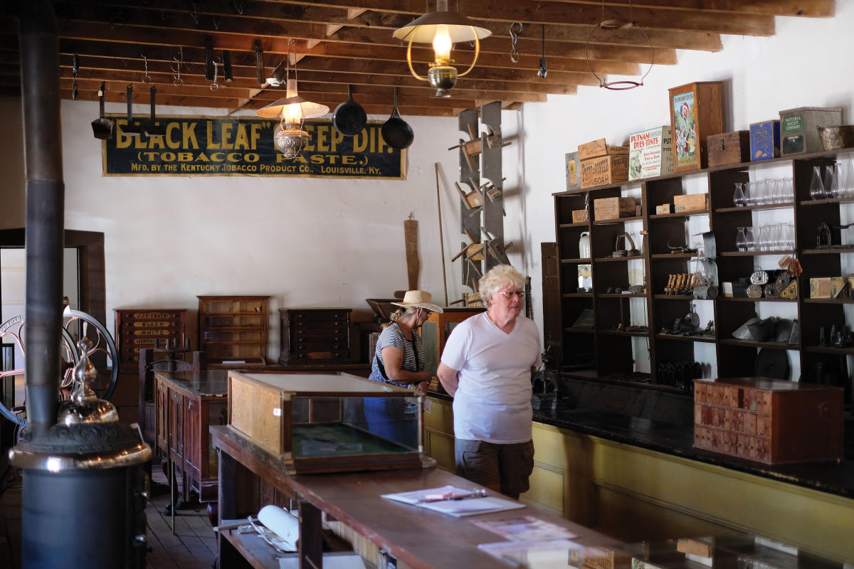 Visitor step back in time at the Tunstall Store