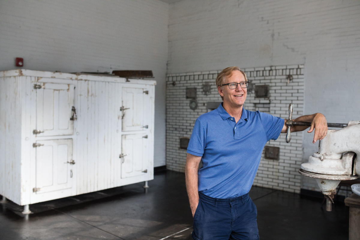 Allan Affeldt says the massive Castañeda bakery once fed Harvey guests, plus customers throughout the region.
