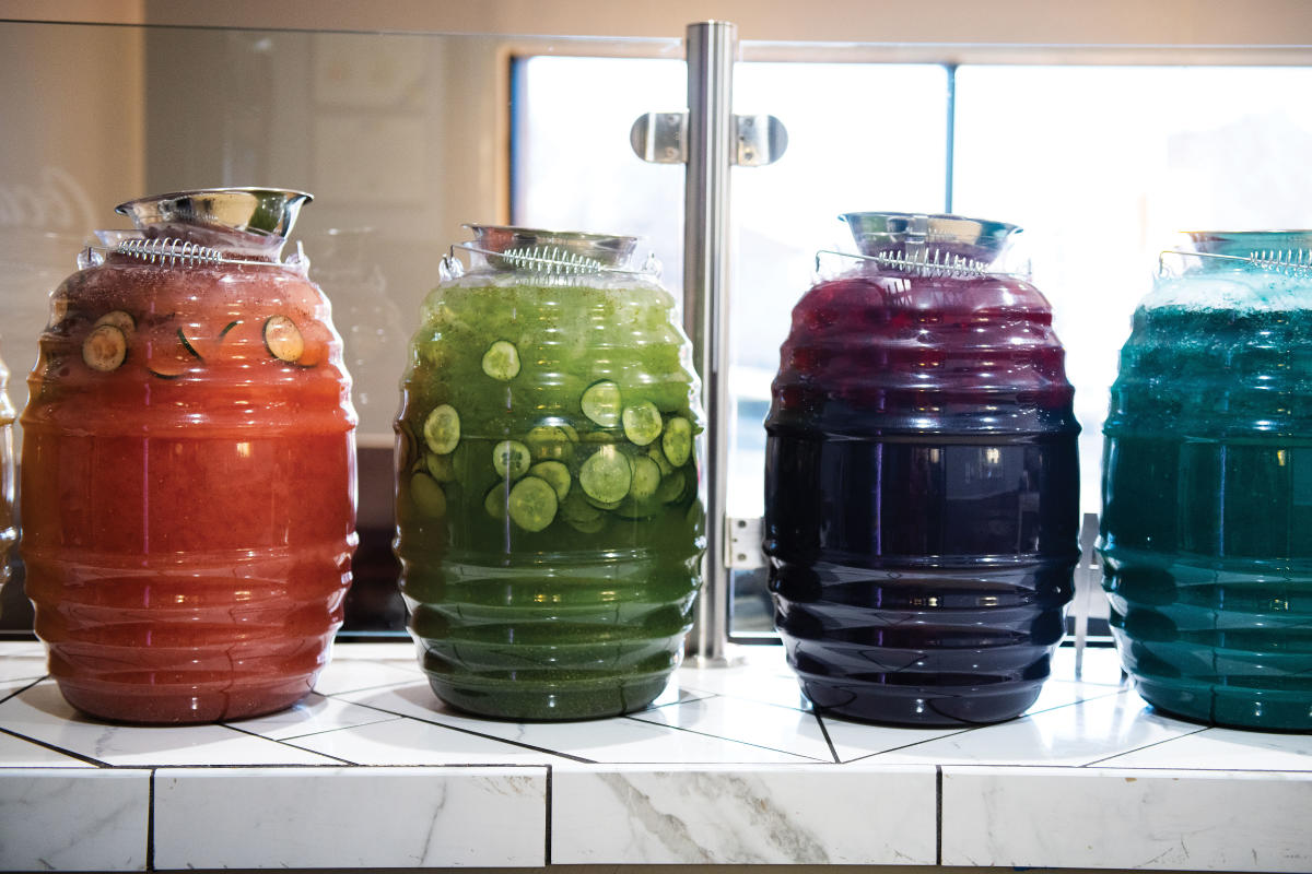 Aguas Frescas from Matteo's Authentic Mexican Food in Las Cruces