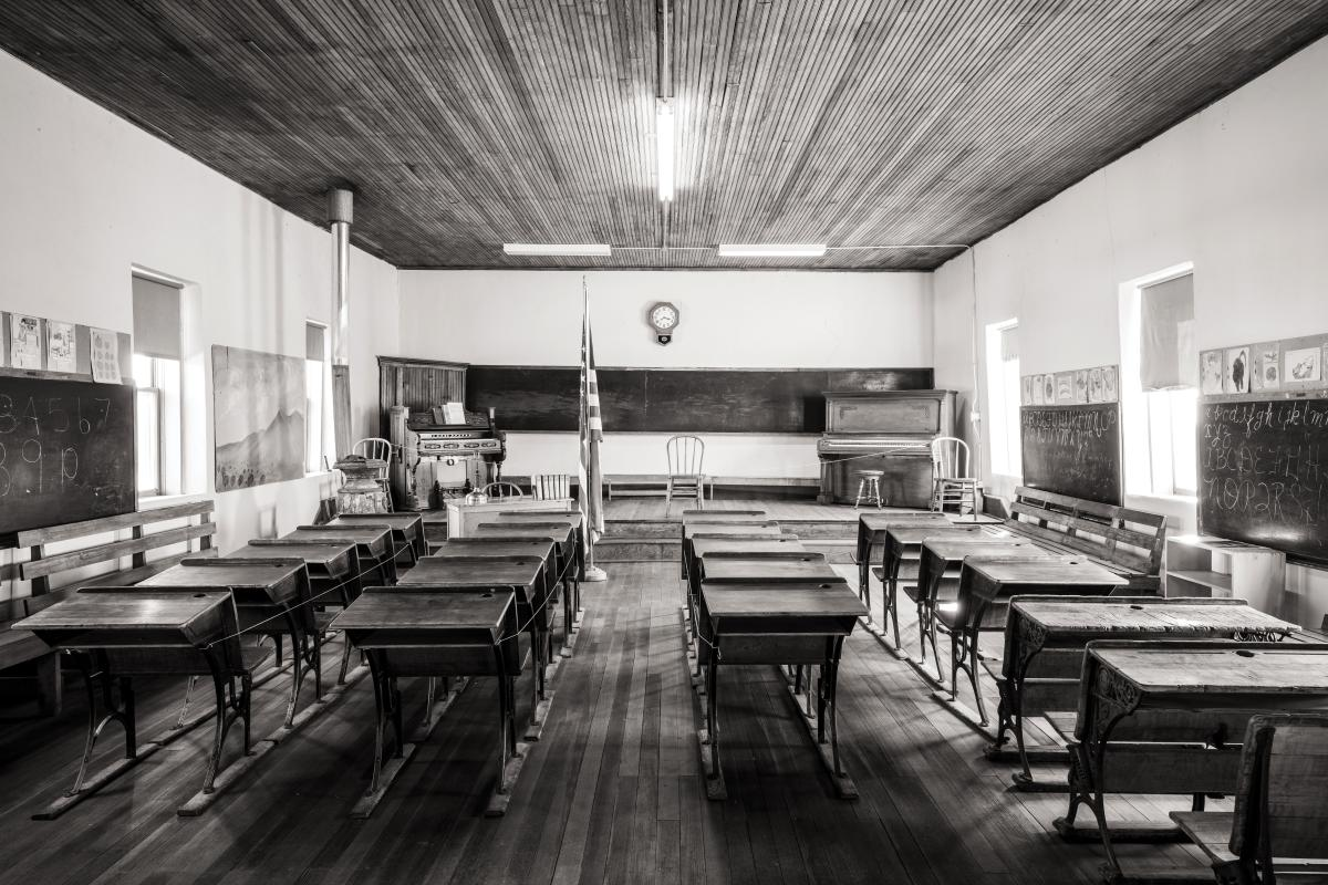 Kingston's schoolhouse turned museum