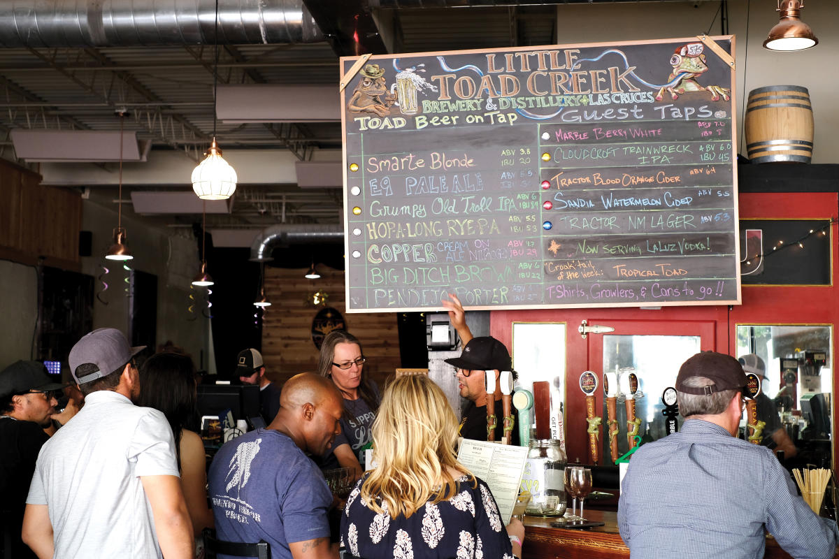 Little Toad Creek Brewery's Taproom