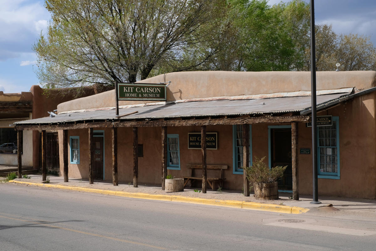 Kit Carson Home and Museum, Taos, New Mexico Magazine