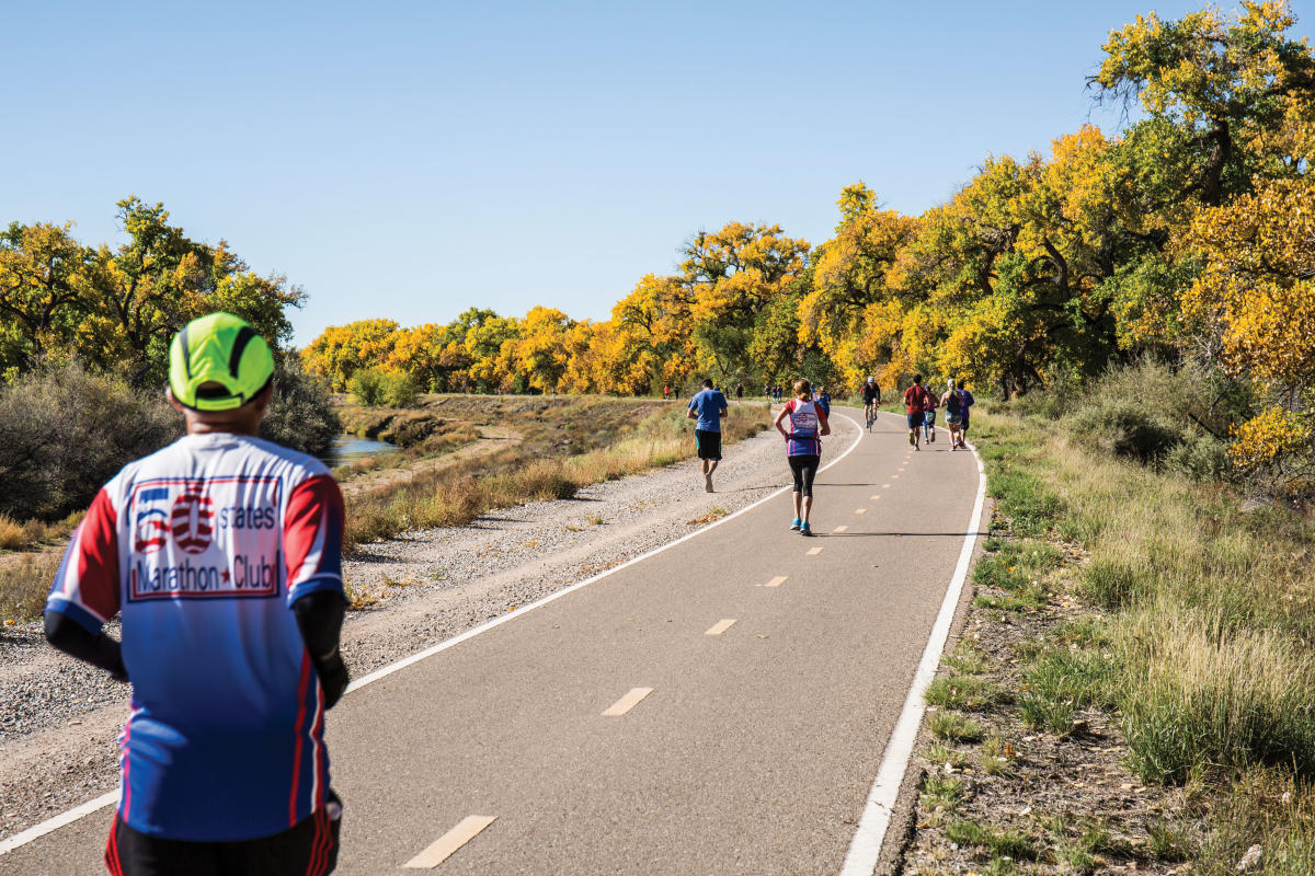 Albuquerque's Bosque Trail