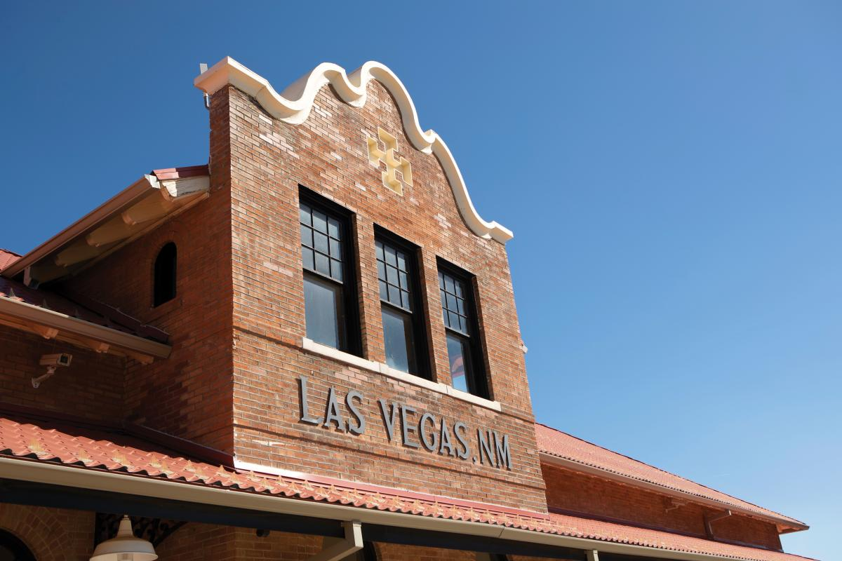 The Las Vegas Depot station building