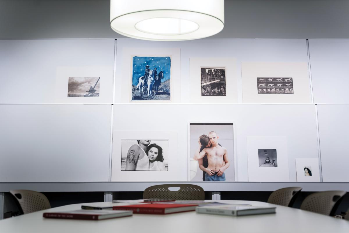 Photography's past and present at UNM Art Museum's print study room.