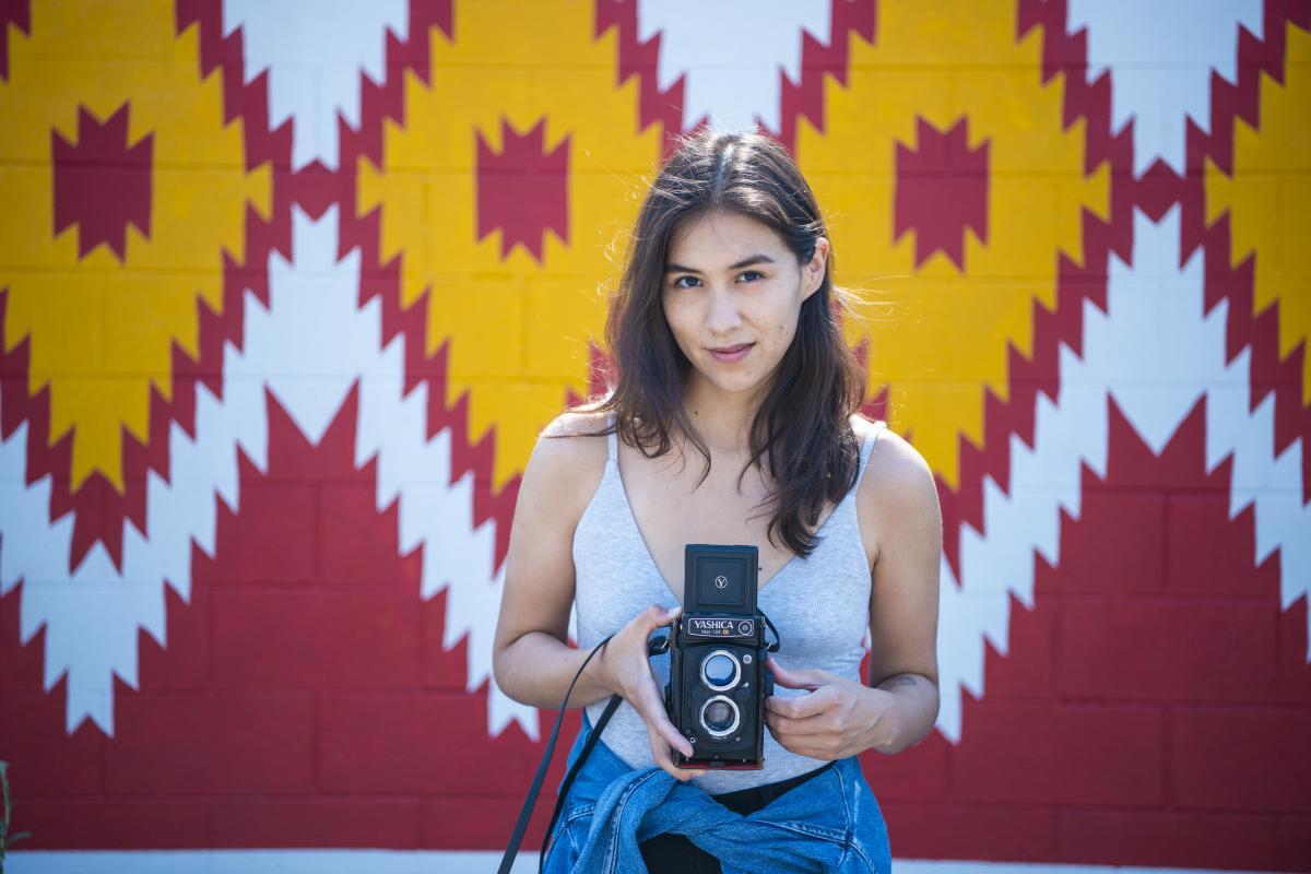 Diné (Navajo) filmmaker Shaandiin Tome, New Mexico Magazine