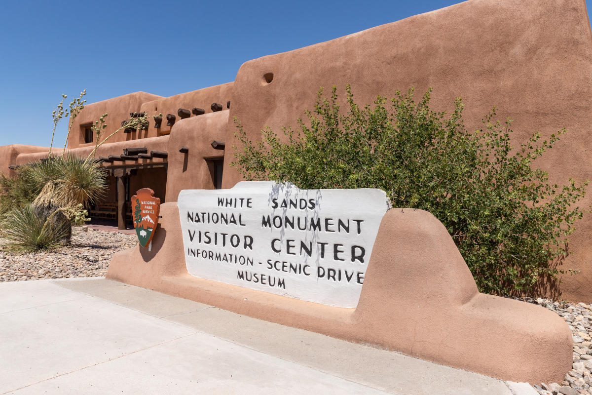 The White Sands Visitor Center, New Mexico Magazine