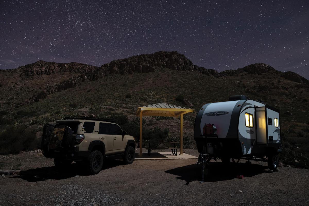 Campsites at Rockhound State Park come with round-the-clock views.