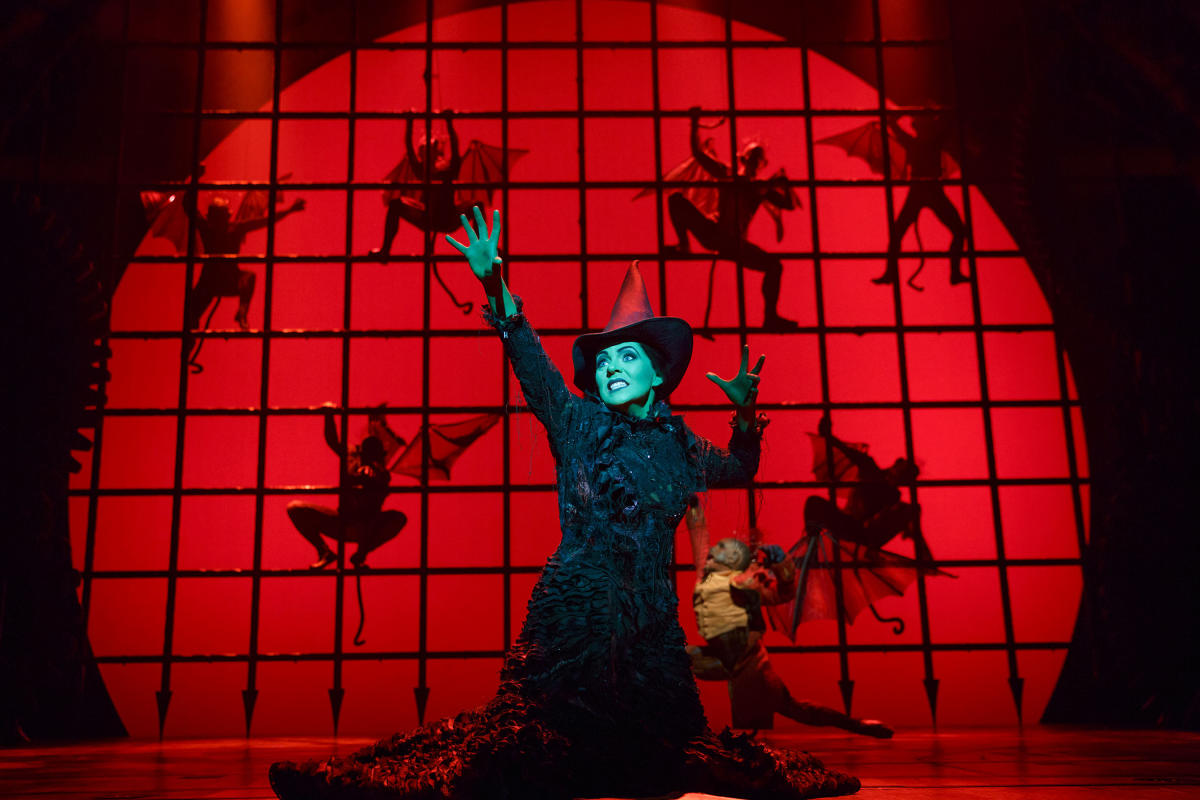 Wicked, Broadway, production still