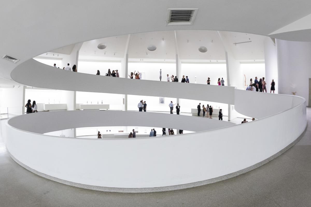 guggenheim, interior