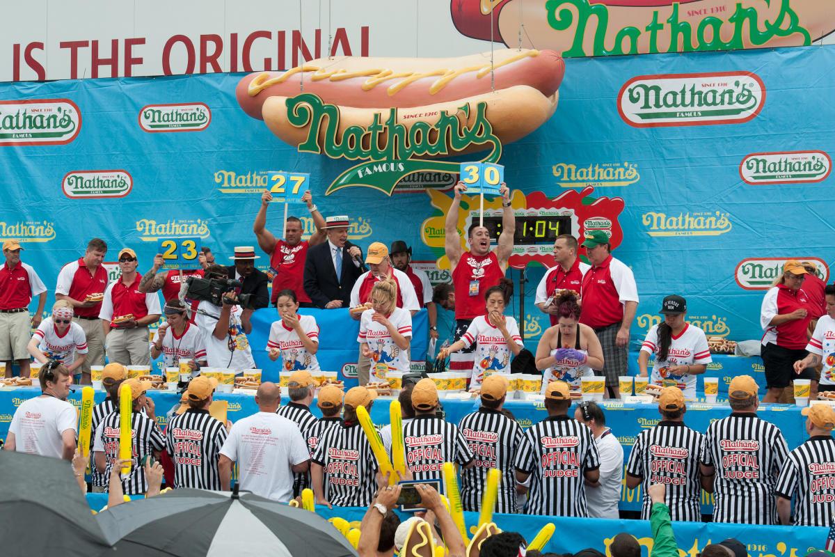 nathan's, hotdog, contest