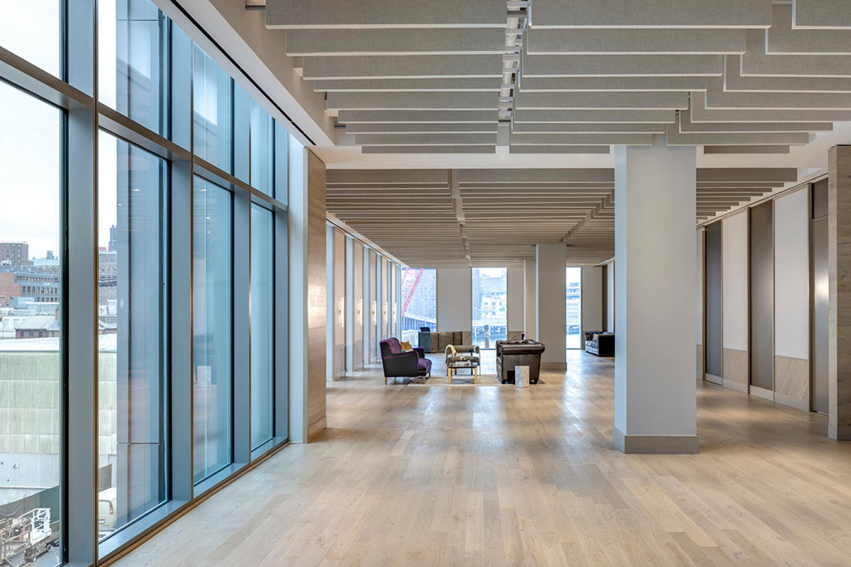 Pier 17, meeting space, interior