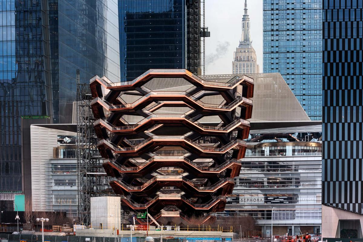Vessel, exterior, hudson yards