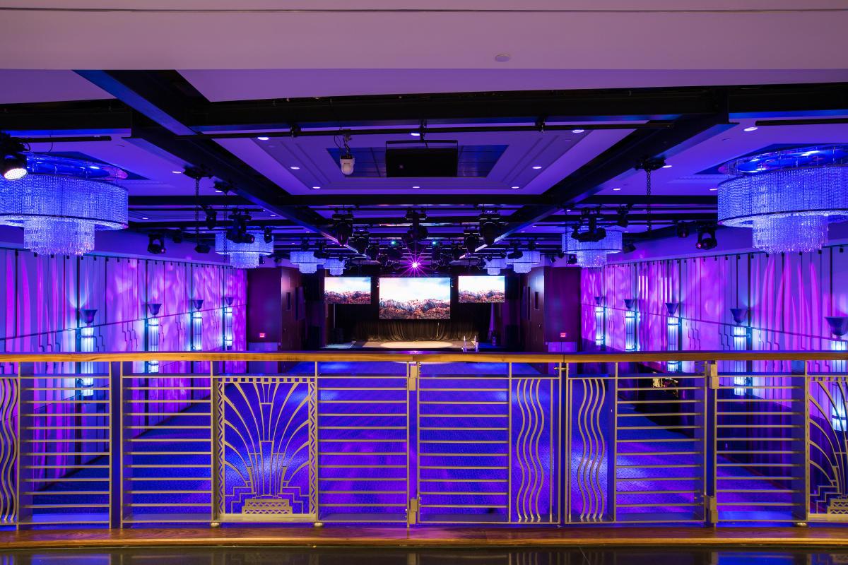 ziegfeld ballroom, interior