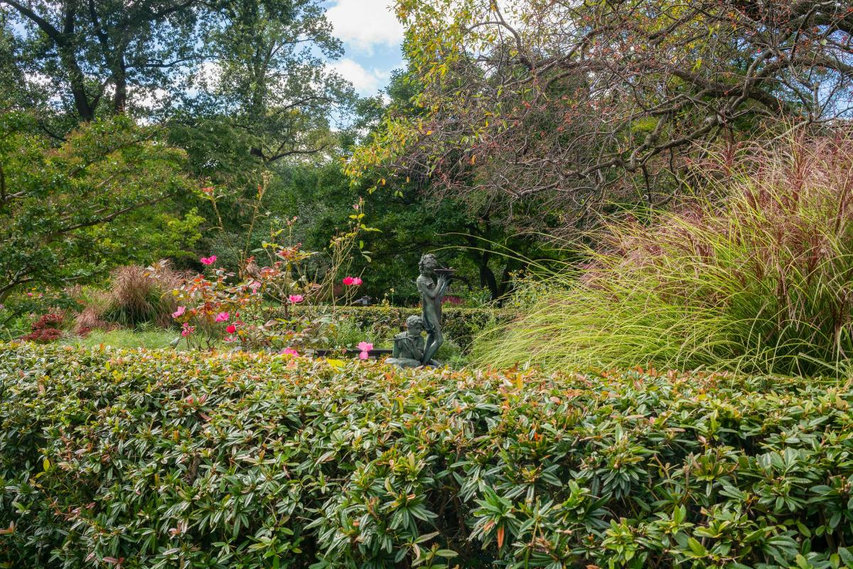 central park, conservatory garden